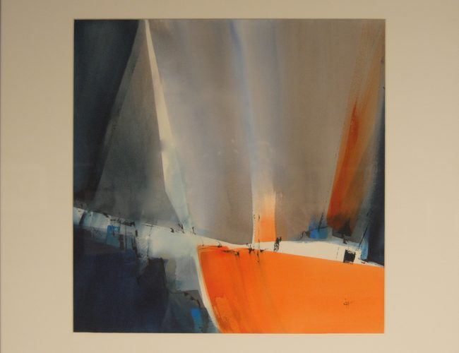 2019 - Marie Françoise Ingels - Abstrait 2